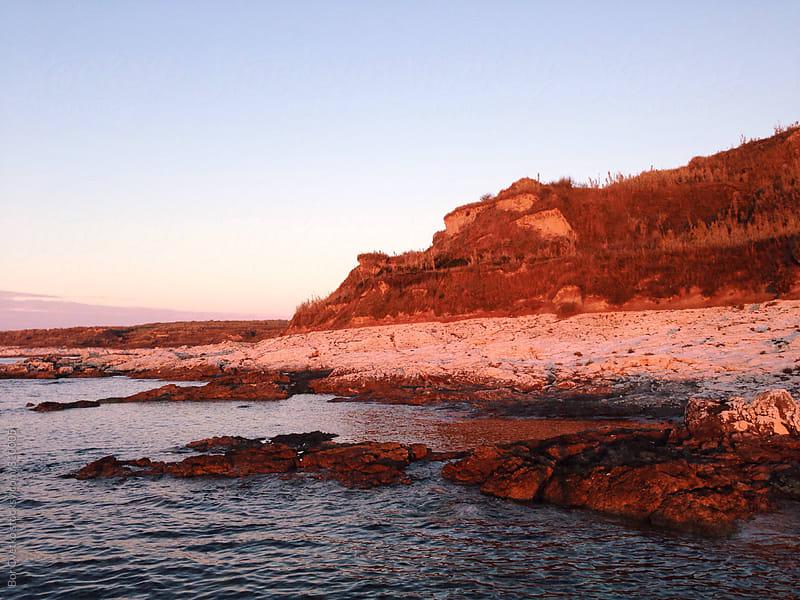 Coast at sunrise by Bor Cvetko for Stocksy United