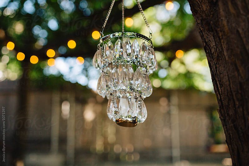 Outdoor Chandelier by Jessica Byrum for Stocksy United