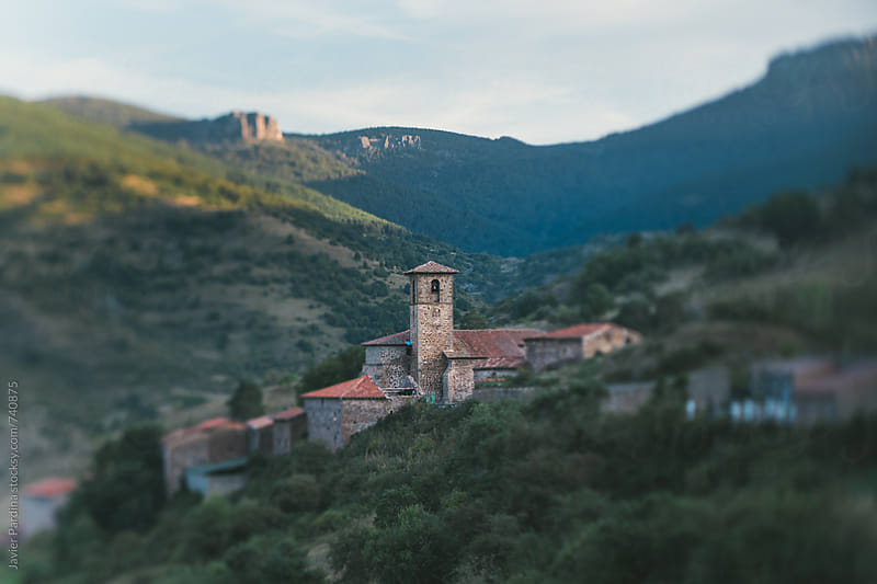 old church in mountains by Javier Pardina for Stocksy United