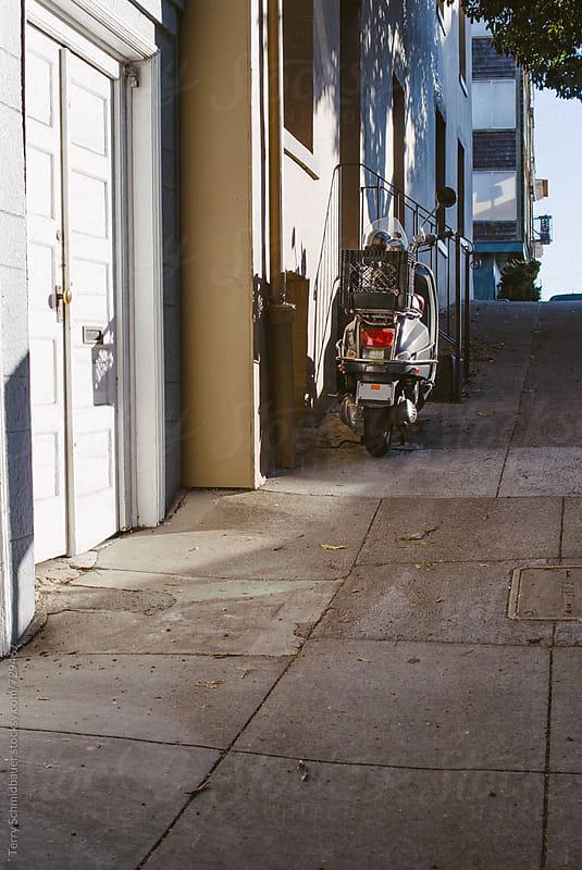 North Beach Sidewalk by Terry Schmidbauer for Stocksy United