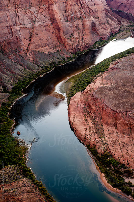 Colorado river at Horseshoe Bend by Peter Wey for Stocksy United