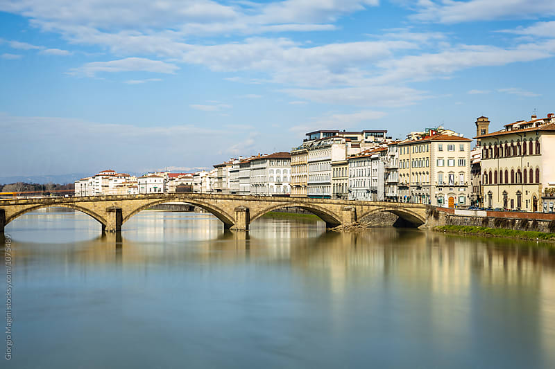 Ponte alla Carraia Bridge in Firenze, Italy by Giorgio Magini for Stocksy United