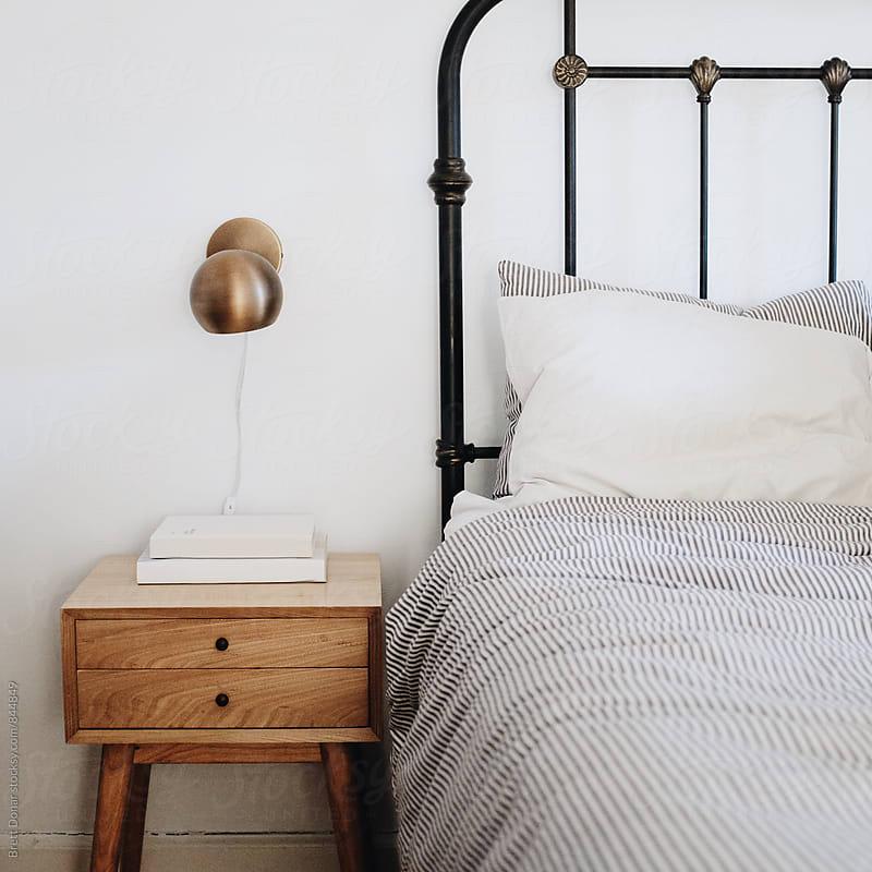 Mid Century Bedroom by Brett Donar for Stocksy United