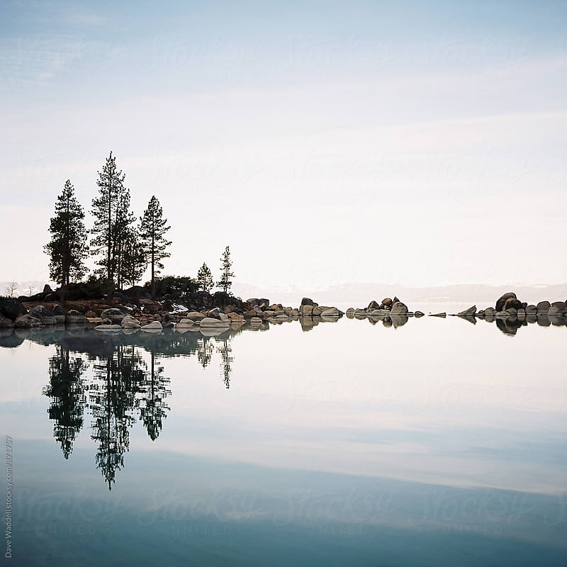 Sand Harbor Morning by Dave Waddell for Stocksy United