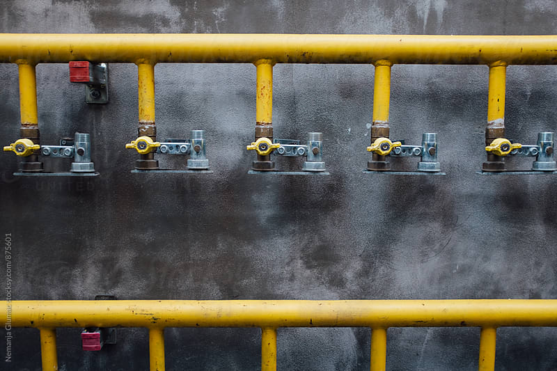 Gas Pipes by Nemanja Glumac for Stocksy United