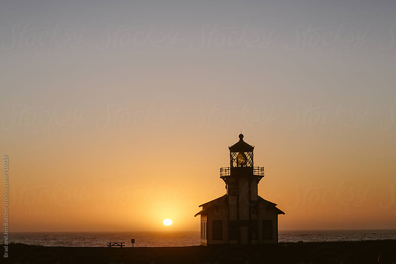 California Lighthouse by Brad and Jen Butcher for Stocksy United