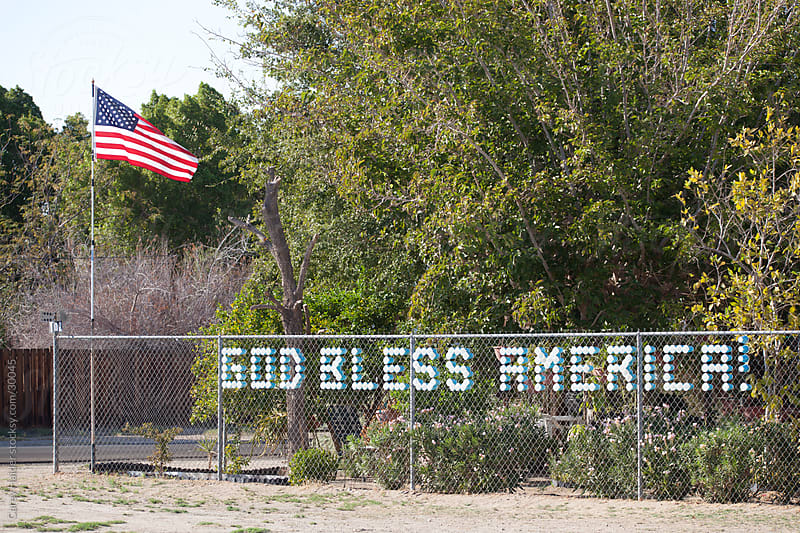 God Bless America by Carey Haider for Stocksy United