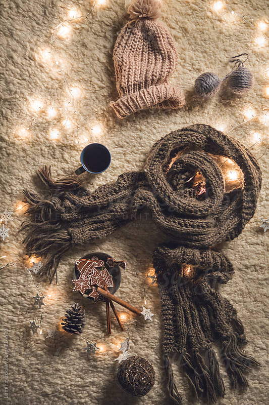 Winter Clothes at Christmas  by Lumina for Stocksy United