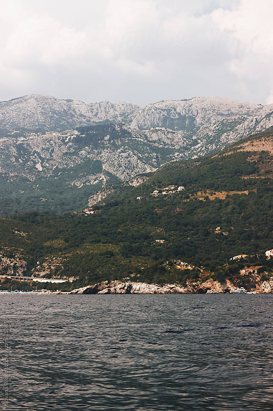 Mountains and sea by Jovana Rikalo for Stocksy United
