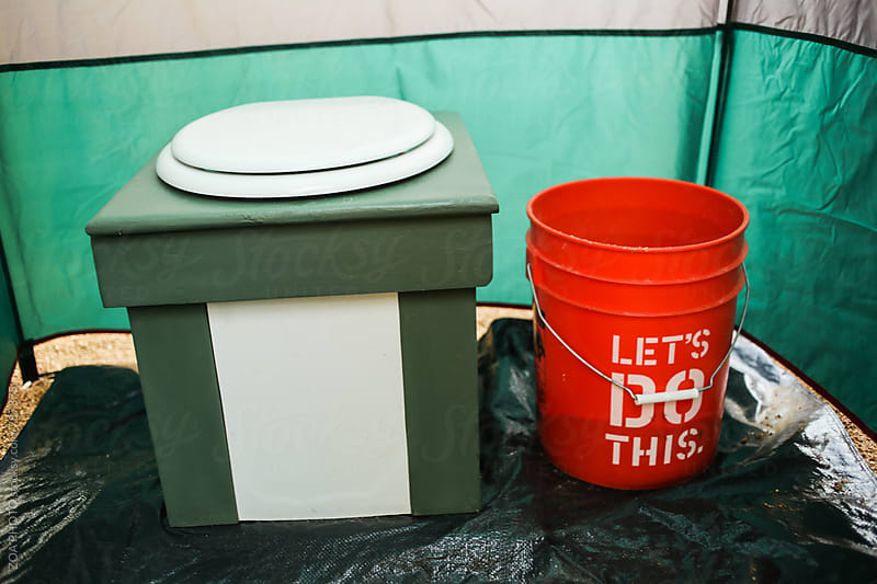 Composting toilet by ZOA PHOTO for Stocksy United
