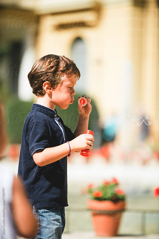 Bubbles by Jose Coello for Stocksy United