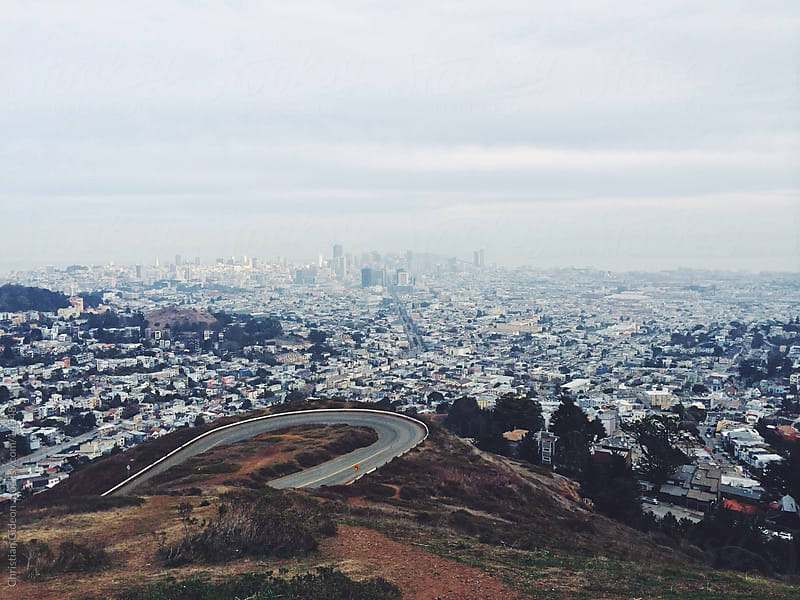 Twin Peaks San Francisco by Christian Gideon for Stocksy United