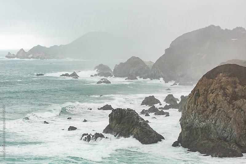 Stormy coast by Amy Covington for Stocksy United