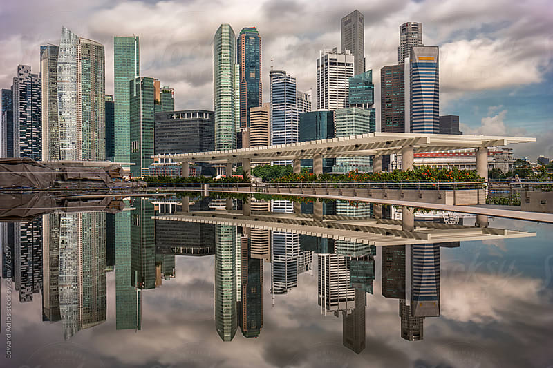 Skyscraper City by Edward Adios for Stocksy United