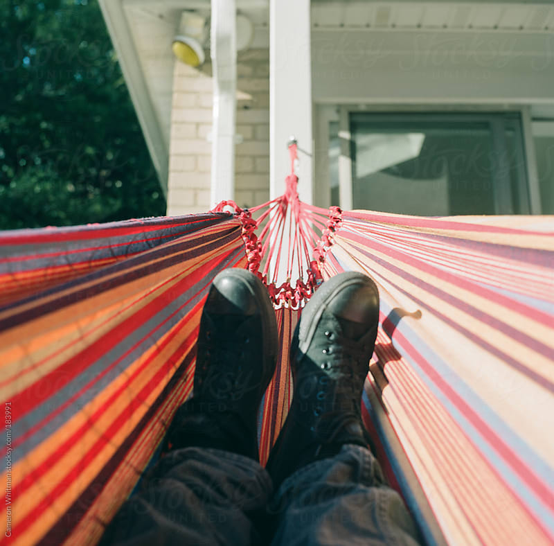 Hammock  by Cameron Whitman for Stocksy United