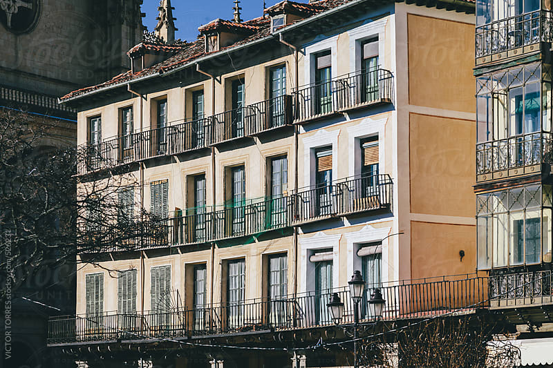 Classic Architecture in Segovia by VICTOR TORRES for Stocksy United