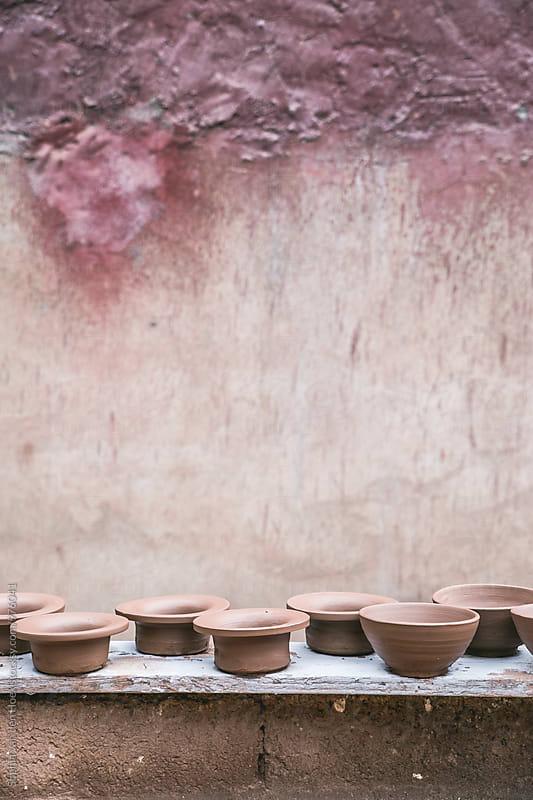 Moroccan pottery by Sophia van den Hoek for Stocksy United