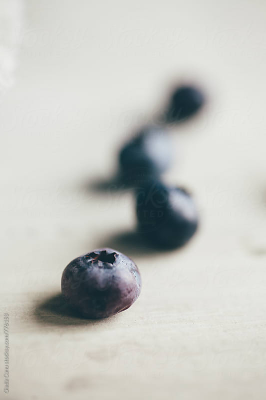 Blueberries by Giada Canu for Stocksy United