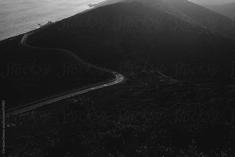 Winding Road by Christian Gideon for Stocksy United
