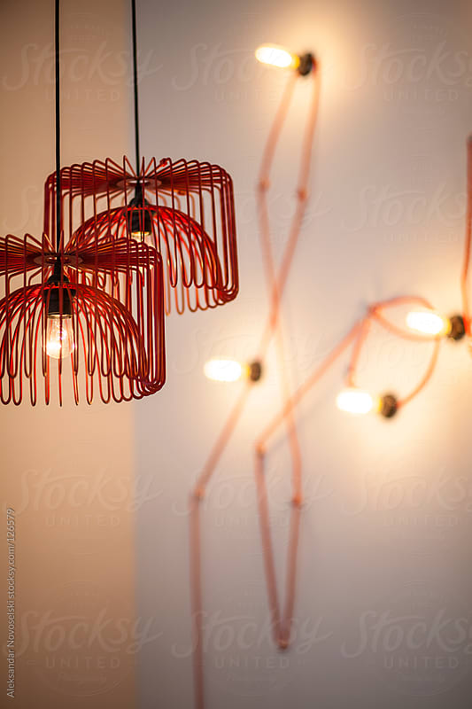 Modern lamps by Aleksandar Novoselski for Stocksy United