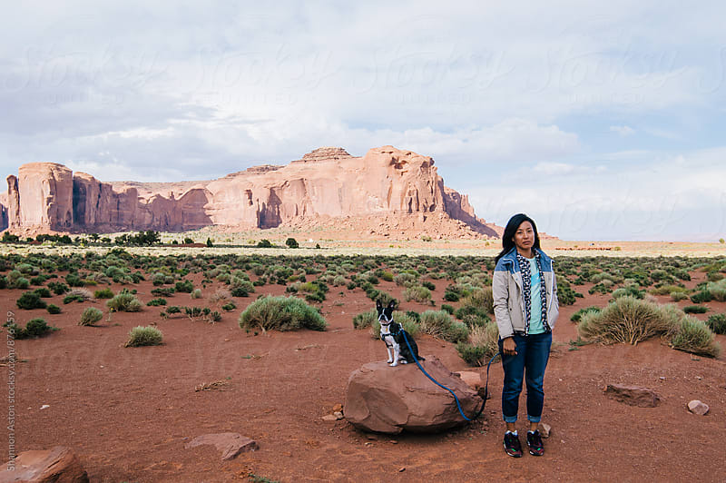 Kathy and Bruce, Monument Valley by Shannon Aston for Stocksy United