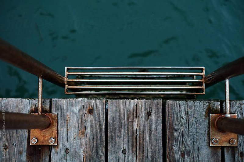 Ladder to the sea by Lyuba Burakova for Stocksy United