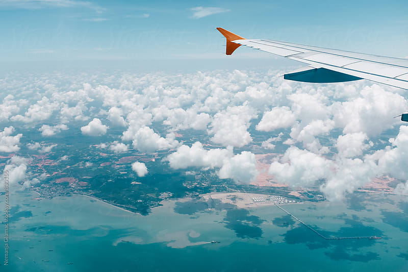 Flight Over Singapore by Nemanja Glumac for Stocksy United