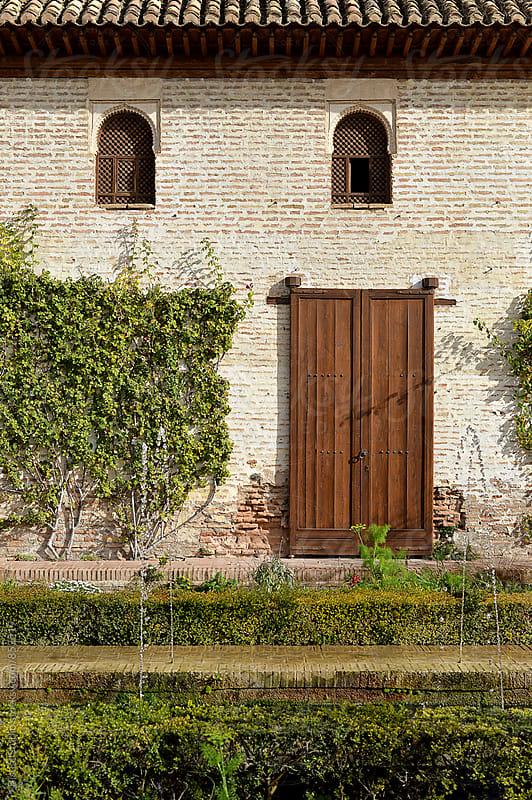 Moorish courtyard by Bisual Studio for Stocksy United