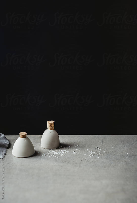 Salt and pepper shakers by Tatjana Ristanic for Stocksy United