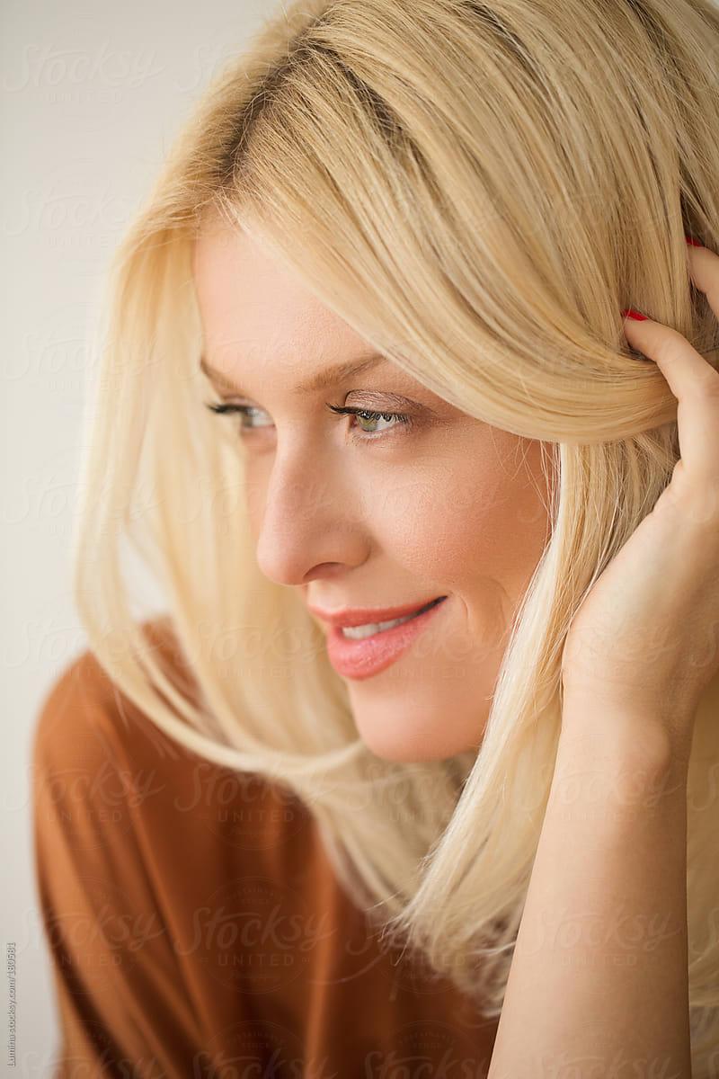 Clip in Hair Extensions Ash Blonde #60 • 120g • Hair