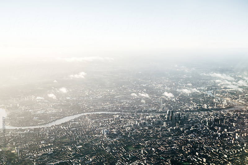 City of London Aerial by Agencia for Stocksy United