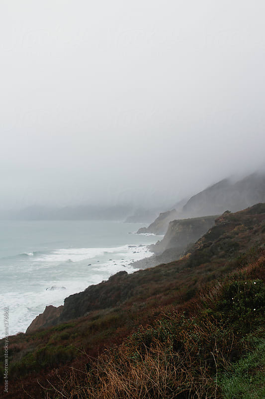The coast of big sur california by Jesse Morrow for Stocksy United