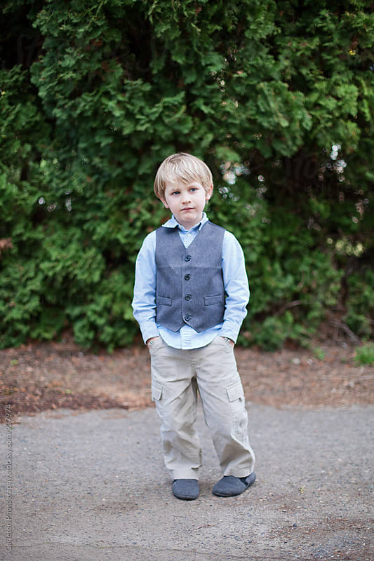 Sharply dressed boy by Carleton Photography for Stocksy United