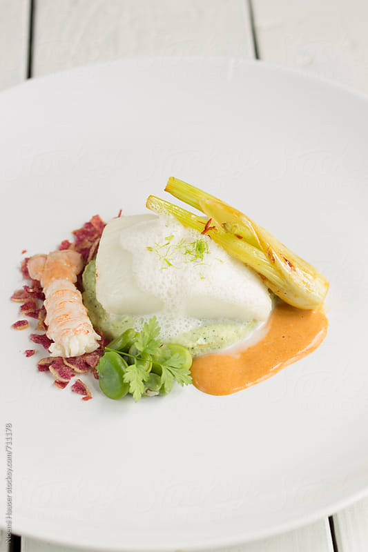Turbot fillet  by Noemi Hauser for Stocksy United
