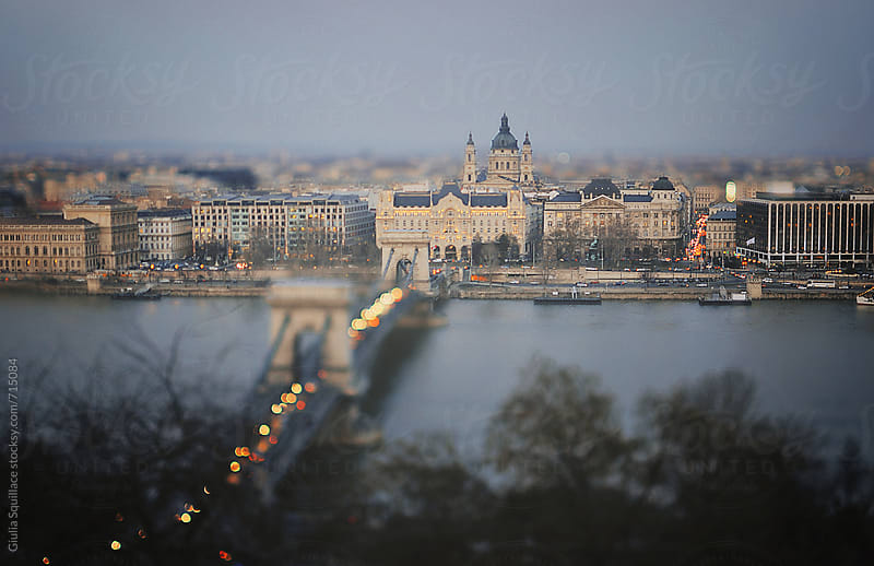 View of Budapest by Giulia Squillace for Stocksy United