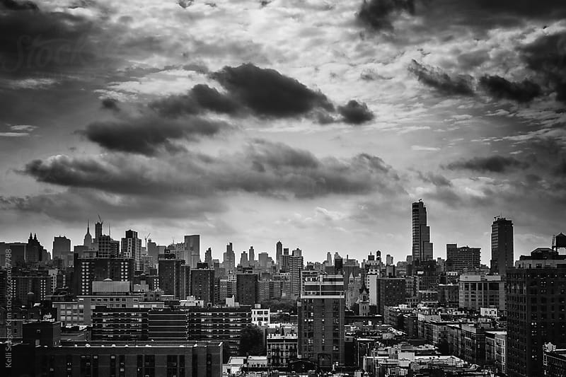 Monochrome image of New York City by kelli kim for Stocksy United