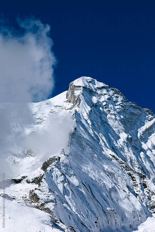 himalayan peak. by Shikhar Bhattarai for Stocksy United