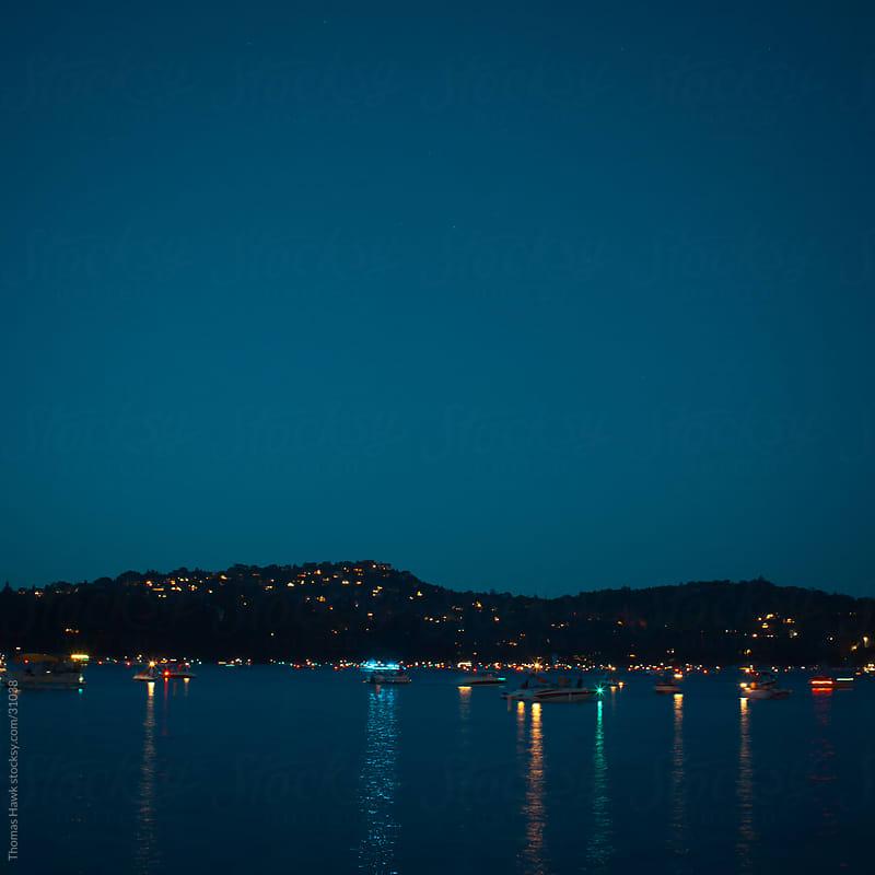 Lake Arrowhead, CA at night by Thomas Hawk for Stocksy United