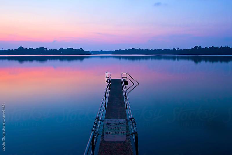 Serenity of Seletar Reservoir by Jacobs Chong for Stocksy United