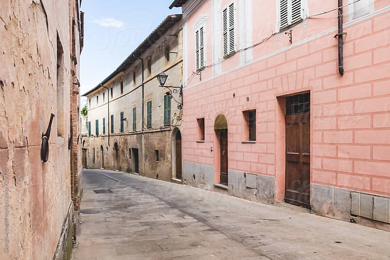 Empty Alley in an Old Italian Village by Giorgio Magini for Stocksy United