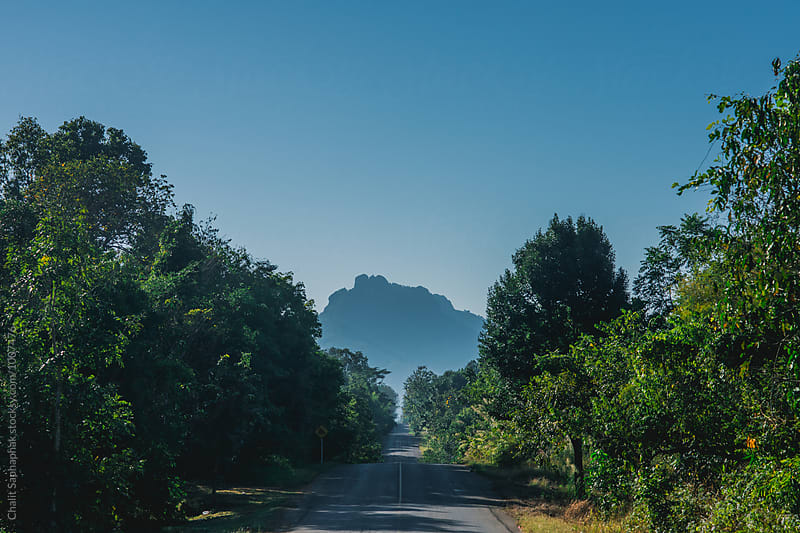 On the road by Chalit Saphaphak for Stocksy United