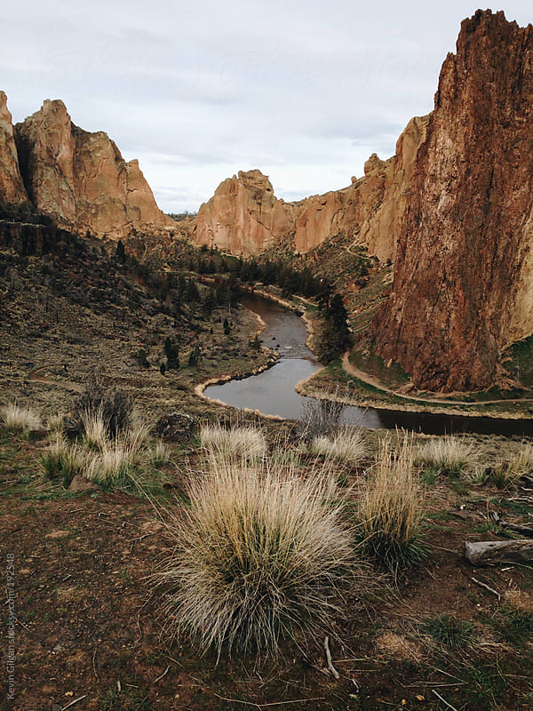 Smith Rock State Park by Kevin Gilgan for Stocksy United
