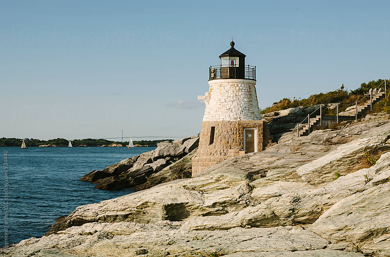 Castle Hill Light by Raymond Forbes LLC for Stocksy United