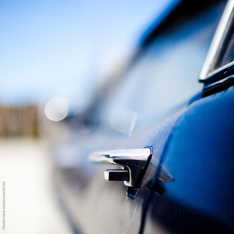 Old Car Detail by Thomas Hawk for Stocksy United