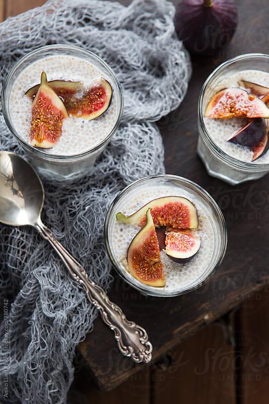 Chia porridge by Aniko Lueff Takacs for Stocksy United