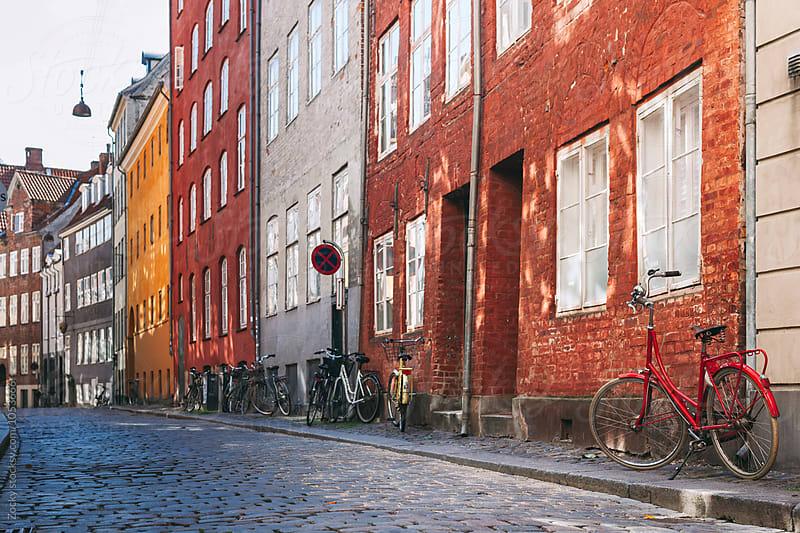 Old Street houses in Copenhagen by Zocky for Stocksy United