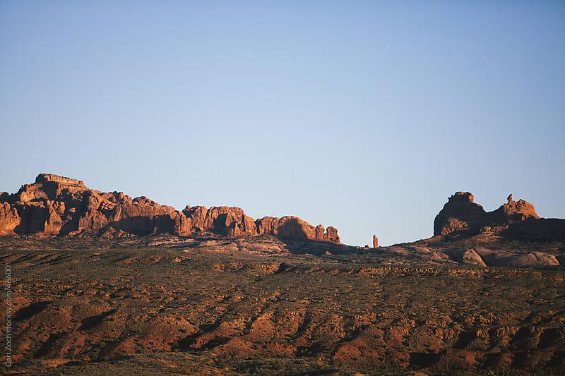 Desert Towers by Carl Zoch for Stocksy United