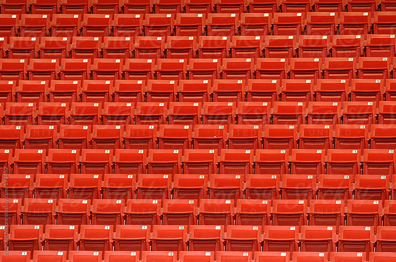 Stadium seating by Nicholas Moore for Stocksy United