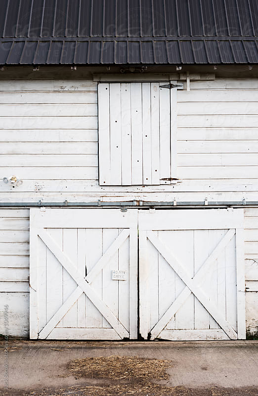 White Barn by Jack Sorokin for Stocksy United