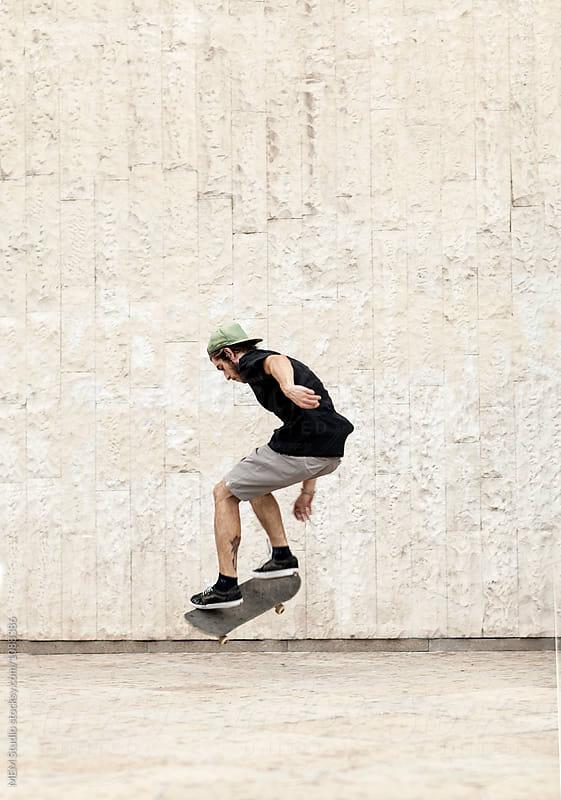 Skaters gonna skate by MEM Studio for Stocksy United
